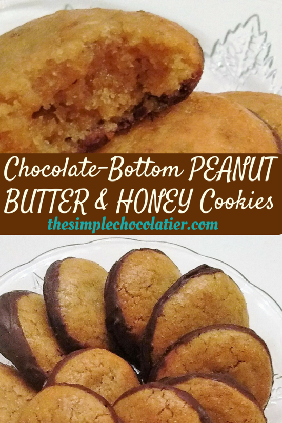 Chocolate-Bottom Peanut Butter & Honey Cookies (Incldg. Maple & Molasses Variations)