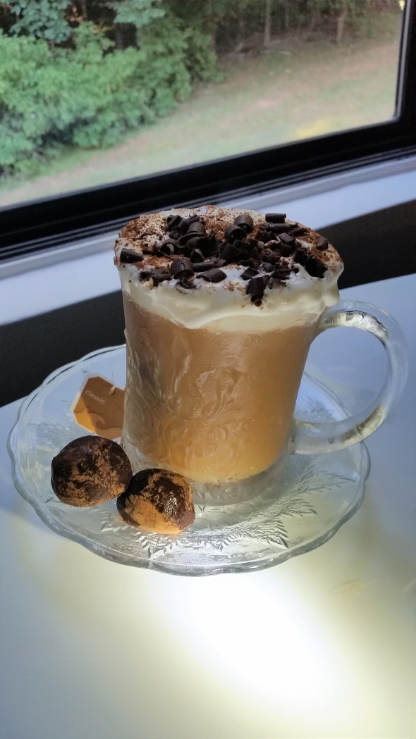 Chai Coconut Dessert Tea with Kahlua