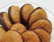 CHOCOLATE-BOTTOM PEANUT BUTTER & HONEY COOKIES (also Gluten-Free & Grain-Free Versions)
