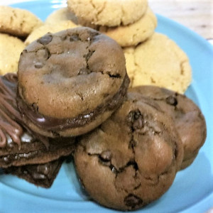 Chocolate-Chocolate Chip Cookie Sandwiches- So Incredibly Delicious!