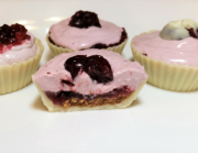 CHOCOLATE CUPS WITH CRANBERRY CREME @thesimplechocolatier