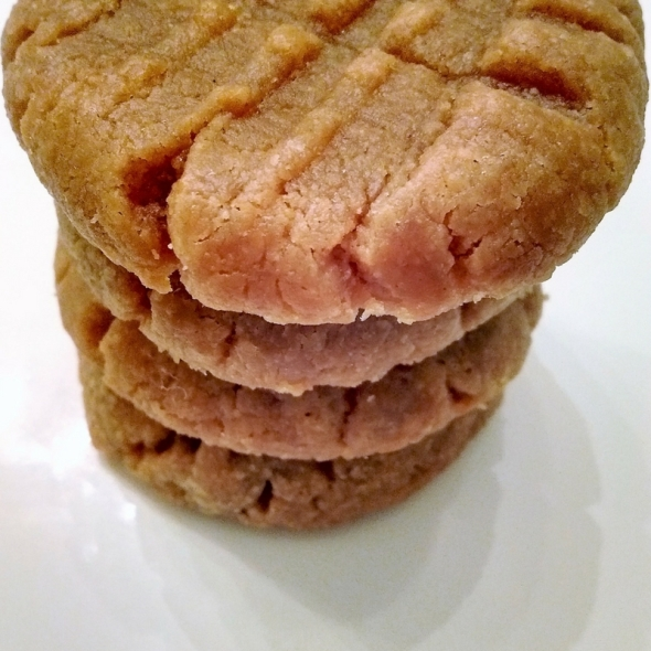 3-Ingredient Peanut Butter Cookies-Gluten FreeGrain Free