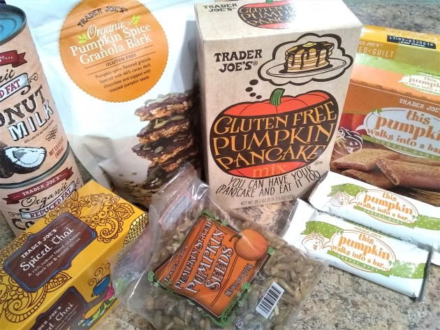 Trader Joe's Pumpkin Goodies and More