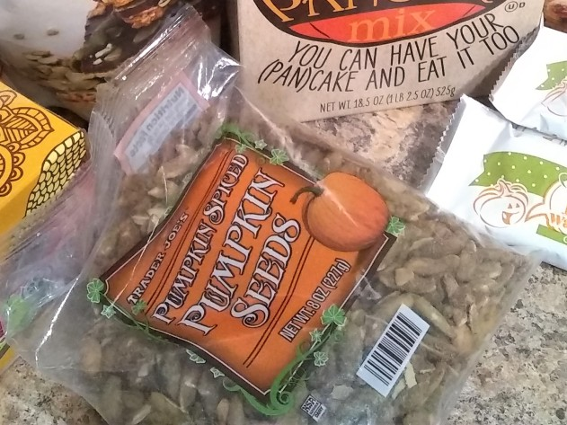 Trader Joe's Pumpkin Spiced Pumpkin Seeds